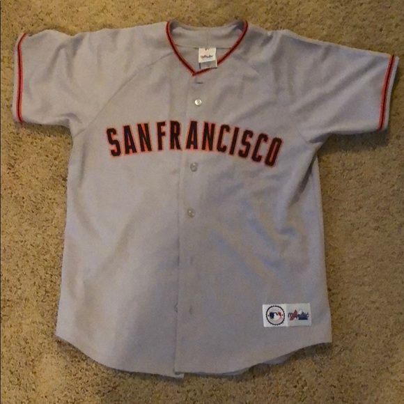 quality design c7b54 f3ca1 San Francisco Giants Away Jersey